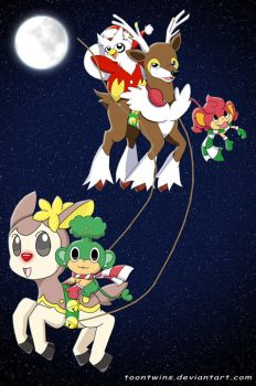Run, Run, Rudolph by ToonTwins