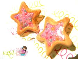 Sugar Star Cookies by colourful-blossom