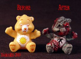 Killer Care Bear Zombie Comp by Undead-Art