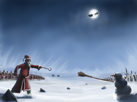 Battle of Christmas by Aanker