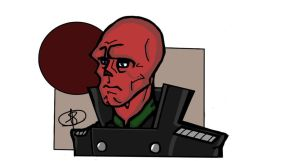 Red Skull by Gligleglog
