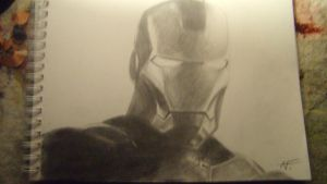 Iron Man c: by AmoraLicious
