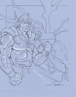 Thor by NJValente
