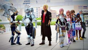 Final Fantasy XIII Group Shot by ObscuraVista
