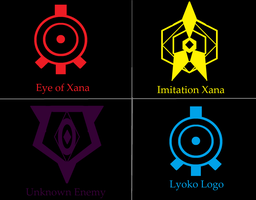 Gift: Lyoko icons (official and fan made) by TheZero759