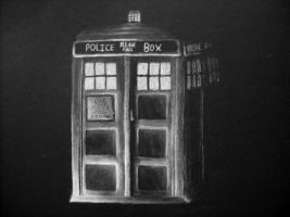 TARDIS by ThirteenthDoctor