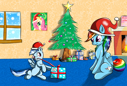 Oooo Presents! by AC-whiteraven