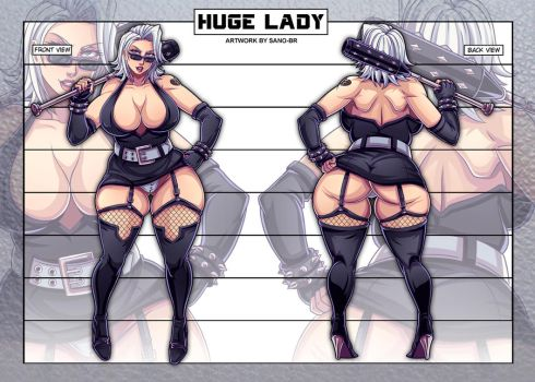 HUGE LADY - Concept (OC) by Sano-BR