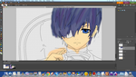 Ciel lineart *Work in progress.* by LitonyaPhilo
