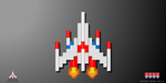 Galaga Fighter Ship by crvnjava67