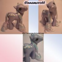 Cinnamoroll Pony by AnimeAmy