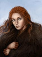 Ygritte - unfinished by ajinak