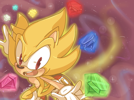 SUPER SONIC STYLE! by chibiirose
