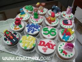 Grandma's Birthday Cupcakes by meechan