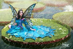 Ninfa queen of the waterlilies by Julianez