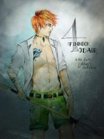Finnick Odair - District 4 - Portrait by FarrahPhoenix