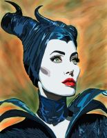 Maleficent no pen by daylover1313