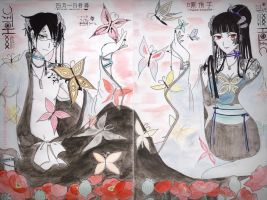 xxxHOLiC_Papaver and Butterfly by RyourieGKomuro03