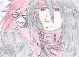 Grell and Vincent by DarkRedTigr