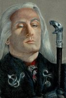 Lucius Malfoy by Fyrie