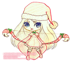 .::Christmas Ashe::. by Litchling