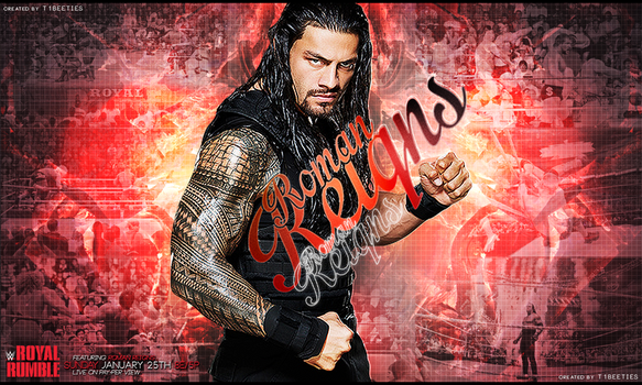 Royal Rumble 2015 Ft. Roman Reigns by Llliiipppsssyyy