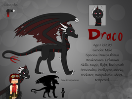 Draco Reference by SilverWingInk