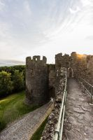 Conwy Town Walls 1 by CyclicalCore