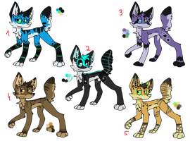 Dog/wolf adopts 3 by That-Alcoholic-Cat