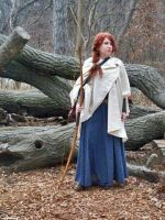 Katniss and Merida Cosplay: In the Wild by celticbard76