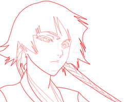 Soi Fon for animation by gamemaster8910