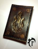 Steampunk Leather Book by Feral-Workshop