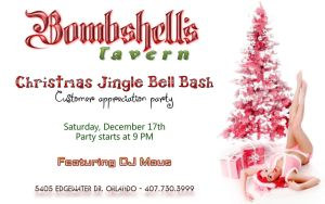 Bombshells Christmas Flyer large by Agent-Spiff