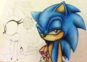 Innocence of a child - Colour Pencil WIP by MissTangshan95