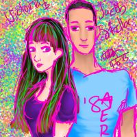 Vicky and Jake by pookalook