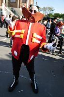 -OLD PIC- Dr Eggman Cosplay by me :D by ViluVector