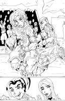 TMW Chapter 13 Page 5 lineart by Lance-Danger