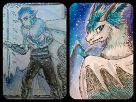 Aceo trade with Patri by GingerAdy