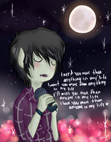 Something About Us - Marshall Lee by SoftyMe