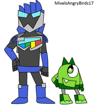 Hopbot And Booger by MixelsAngryBirds17