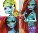 MH FW Lagoona repaint #1 ~Serena~ by RogueLively
