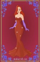 Jessica Rabbit by kawaiibrit