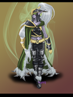 Maiev Shadowsong by NightElfPriestess