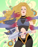 Barbarella by MargueriteSauvage