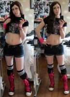 AJ Lee by MissShagrath