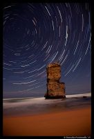 Star Trail Gibson Steps by TVD-Photography