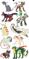 MUSEK ADOPTS (5/10 open) by xSpickeyx