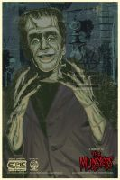 Herman Munster Collaboration by PsychoSlaughterman