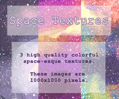 Space Textures Pack by pukukurin