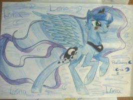 Princess Luna by DrawingSnow66